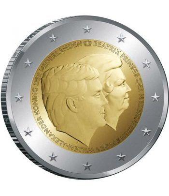moneda conmemorativa 2 euros Holanda 2014.  - 2