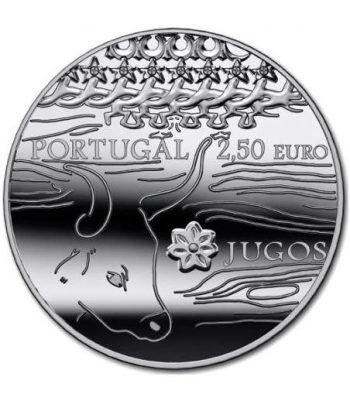 Portugal 2.5 Euros 2014. Yugos. Etnografia.  - 1