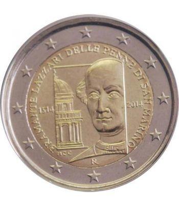 moneda conmemorativa 2 euros San Marino 2014. Bramante  - 1