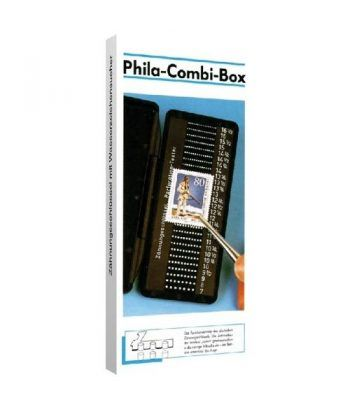 LINDNER Odontometro Phila Combi Box para dentado del sello  - 3
