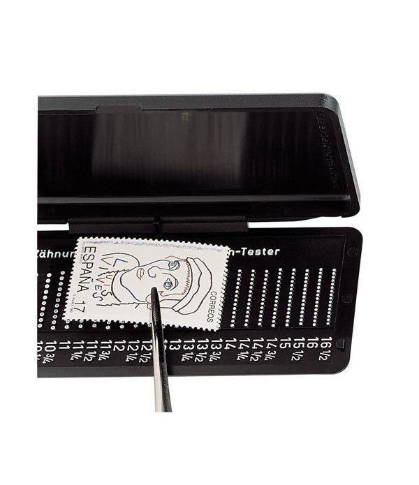 LINDNER Odontometro Phila Combi Box para dentado del sello  - 1