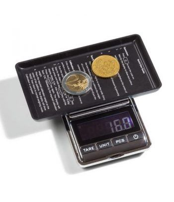 LEUCHTTURM Báscula digital LIBRA 500 para monedas (0,1-500gr).  - 2