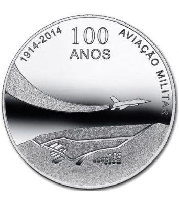 Portugal 2.5 Euros 2014. 100 Años Aviación Militar.  - 1