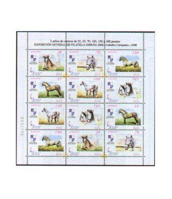 Minipliego 62 España 2000 Caballos 1998  - 2