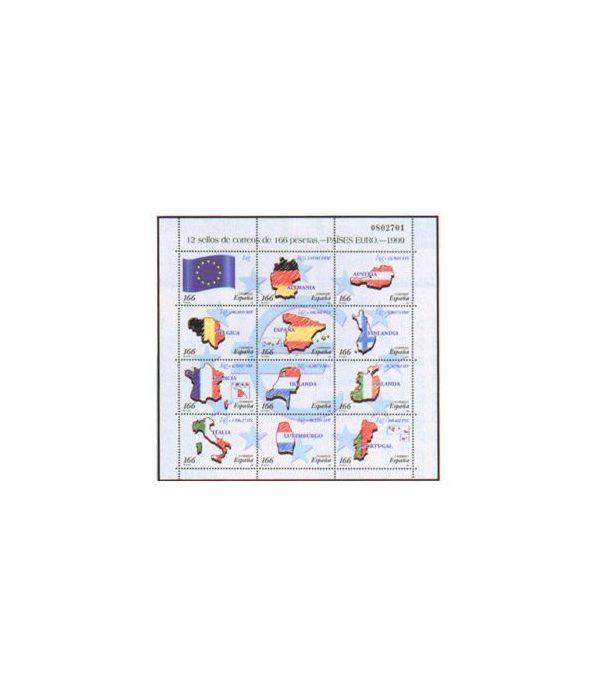 Minipliego 63 Países Euro 1999  - 2