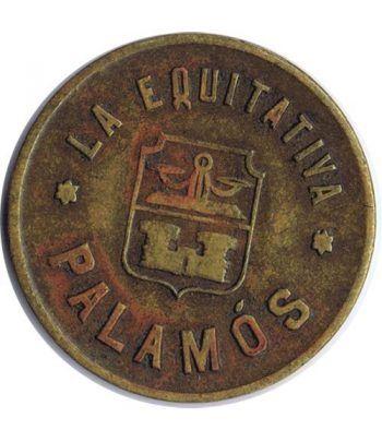 Moneda La Equitativa. Palamós. 3 centimos.  - 1