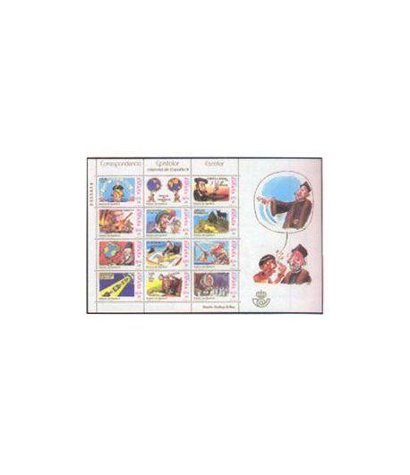 Minipliego 76 Correspondencia Epistolar 2001  - 2