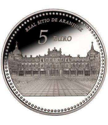 Moneda 2014 Patrimonio Nacional. Palacio Real Aranjuez. 5 euros.  - 1
