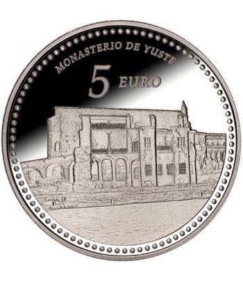 Moneda 2014 Patrimonio Nacional. Monasterio de Yuste. 5 euros.  - 1
