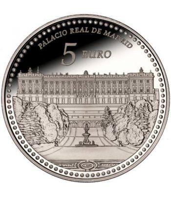 Moneda 2014 Patrimonio Nacional. Palacio Real de Madrid. 5 euros  - 1