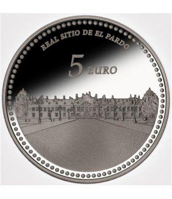 Moneda 2014 Patrimonio Nacional. Palacio de El Pardo. 5 euros.  - 1