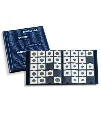 LEUCHTTURM Album monedas para 200 cartones. Album Monedas - 1