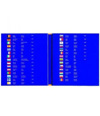 LEUCHTTURM PRESSO Euro Coin Collection (carpeta 25 países) Album Monedas Euro - 4