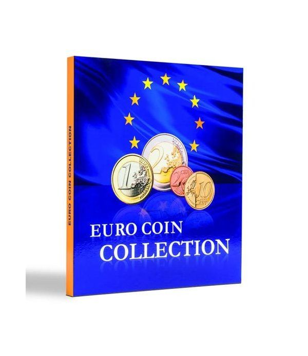 LEUCHTTURM PRESSO Euro Coin Collection (carpeta 25 países) Album Monedas Euro - 6