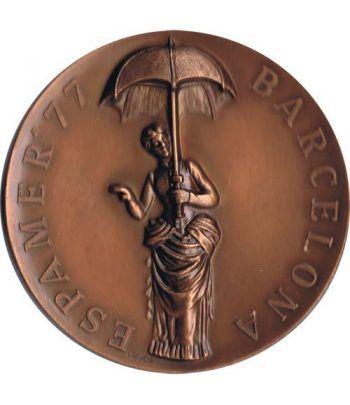Medalla Espamer'77 en Barcelona. Bronce.  - 1