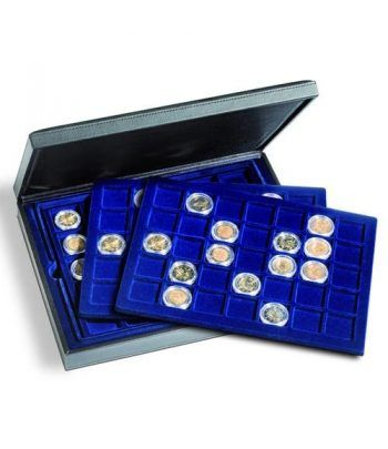 LEUCHTTURM Estuche PRESIDIO para 105 monedas de 35 mm. Estuche Monedas - 1