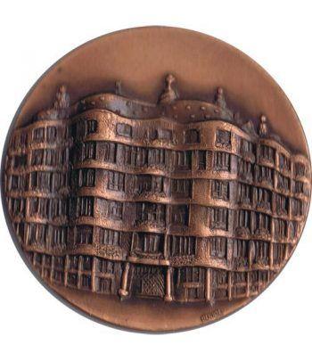 Medalla Salon del Regalo 1992. La Pedrera. Bronce.  - 1