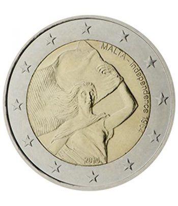 moneda conmemorativa 2 euros Malta 2014. Independencia.  - 2