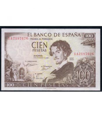 (1965/11/19) Madrid. 100 Pesetas. EBC  - 4