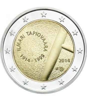 moneda conmemorativa 2 euros Finlandia 2014. Tapiovaara.  - 2