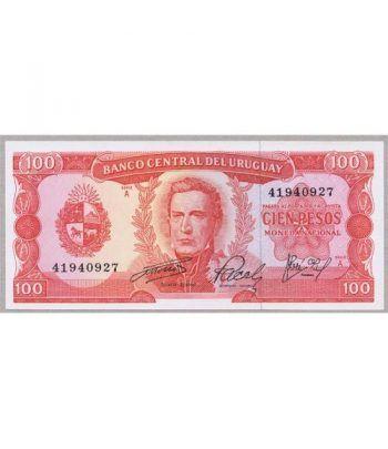 Uruguay 100 Pesos 1967. SC.  - 4