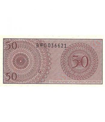 Indonesia 50 Sen. Lima Puluh Sen 1964. SC.  - 2