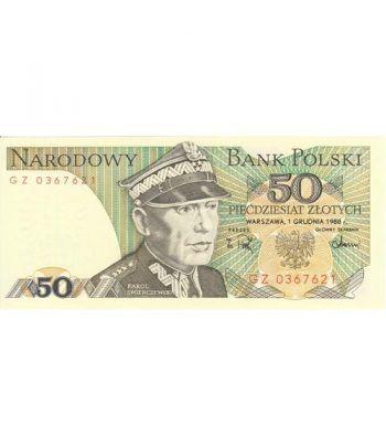 Polonia 50 Zlotych 1988. SC.  - 1