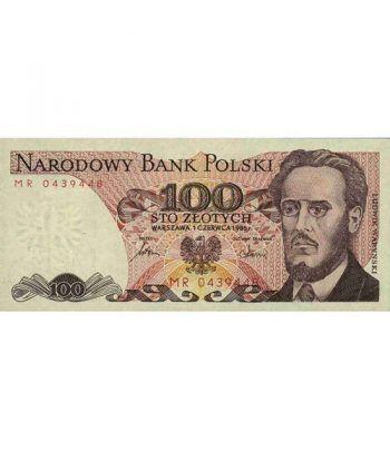 Polonia 100 Zlotych 1986. SC.  - 1