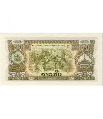 Laos 20 Kip 1975. SC.  - 1