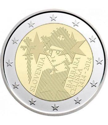 moneda conmemorativa 2 euros Eslovenia 2014.  - 2