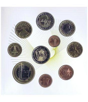 Cartera oficial euroset Eslovenia 2014 (incluye 2 y 3 euros)  - 2