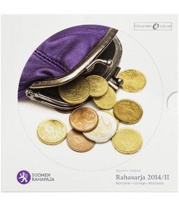 Cartera oficial euroset Finlandia 2014 (incluye monedas 2€)  - 1