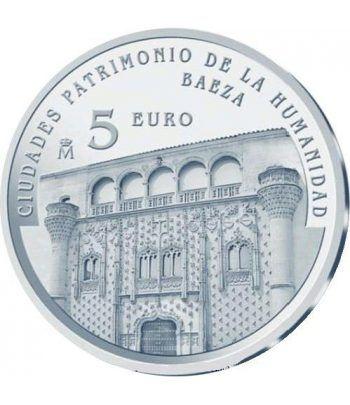 Moneda 2014 Patrimonio de la Humanidad. Baeza. 5 euros.  - 1