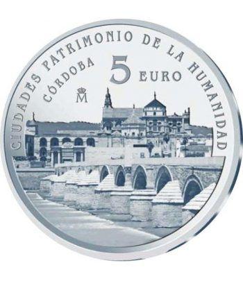 Moneda 2014 Patrimonio de la Humanidad. Córdoba. 5 euros.  - 1