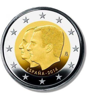 moneda conmemorativa 2 euros España 2014 Felipe VI.  - 2