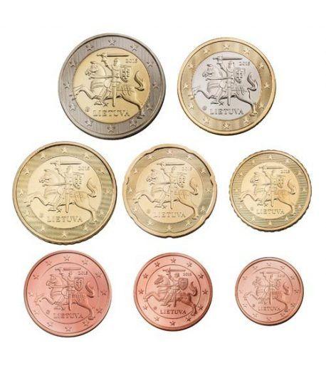 monedas euro serie Lituania 2015.  - 2