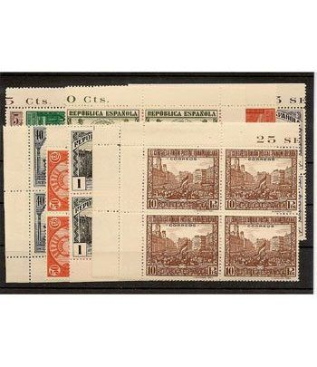 0604/13 Panamericana (Bloque de 4)  - 2