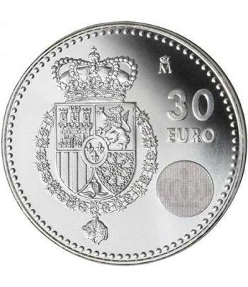 Moneda conmemorativa 30 euros 2014 Felipe VI.  - 1