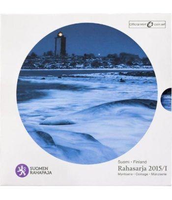 Cartera oficial euroset Finlandia 2015. Faro.  - 1