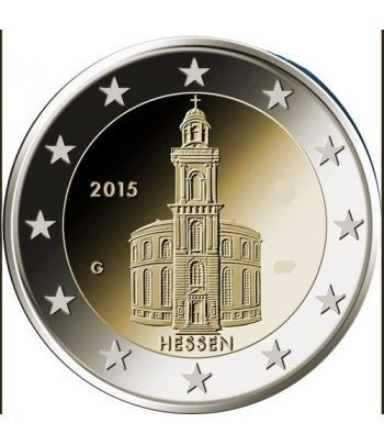 moneda conmemorativa 2 euros Alemania 2015 (5) Hessen  - 2
