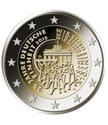 moneda conmemorativa 2 euros Alemania 2015 (5) Reunificacion  - 2