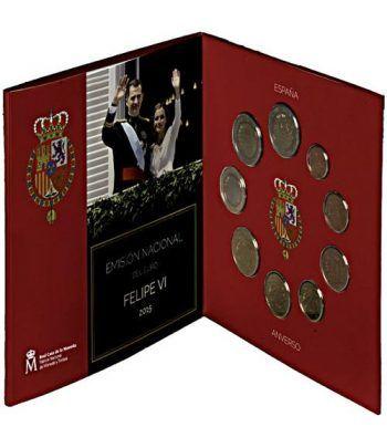 Cartera oficial euroset España 2015 + 2€ Altamira.  - 1