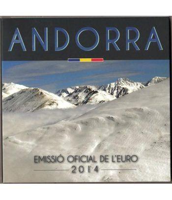 Monedas Euroset Andorra 2014  - 1