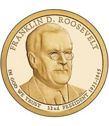 E.E.U.U. 1$ (2014) 32º Presidencial Franklin Roosevelt (2cecas)  - 2
