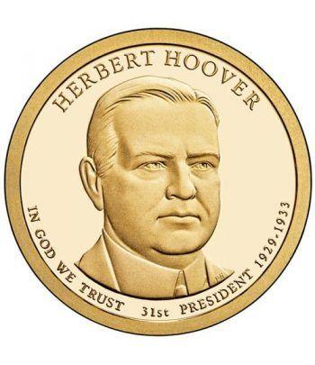 E.E.U.U. 1$ (2014) 31º Presidencial Herbert Hoover (2cecas)  - 2