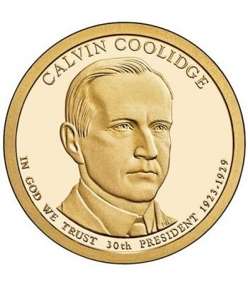 E.E.U.U. 1$ (2014) 30º Presidencial Calvin Coolidge (2cecas)  - 2