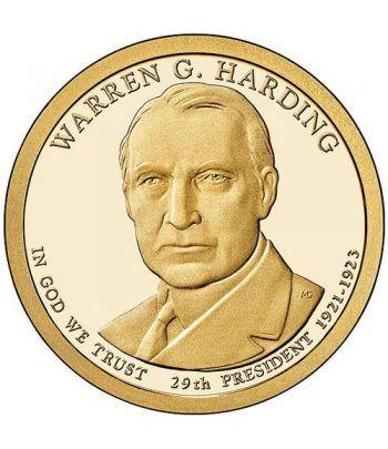 E.E.U.U. 1$ (2014) 29º Presidencial Warren G. Harding (2cecas)  - 2
