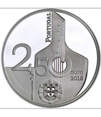 Portugal 2.5 Euros 2015. Fado.  - 1