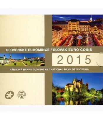 Cartera oficial euroset Eslovaquia 2015.  - 1