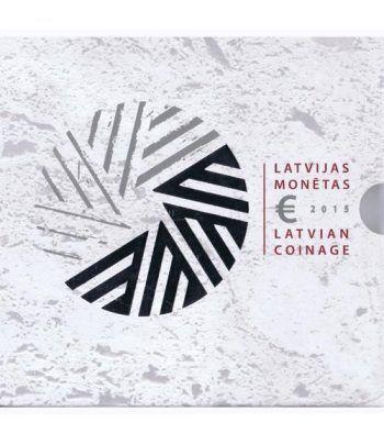 Cartera oficial euroset Letonia 2015.  - 1